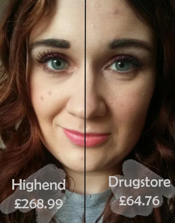 Highend vs drugstore