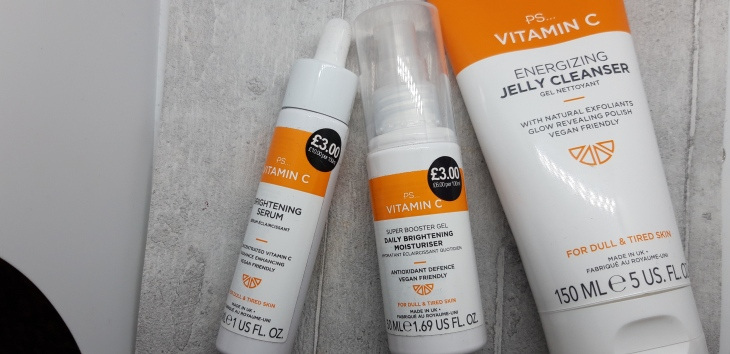 Primark PS...Vitamin C Skincare Range Review