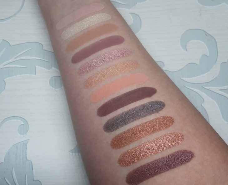 Viseart Paris Edit swatches